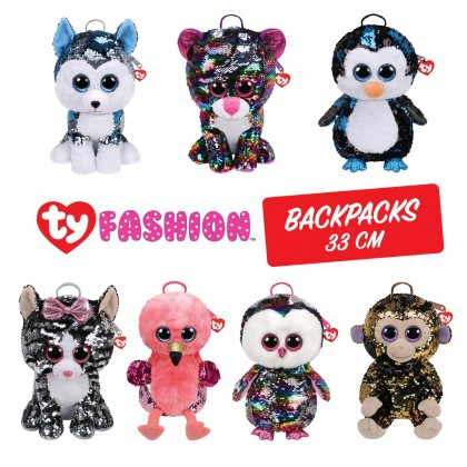 Ty Fashion - Coconut the Monkey Sequins Backpack