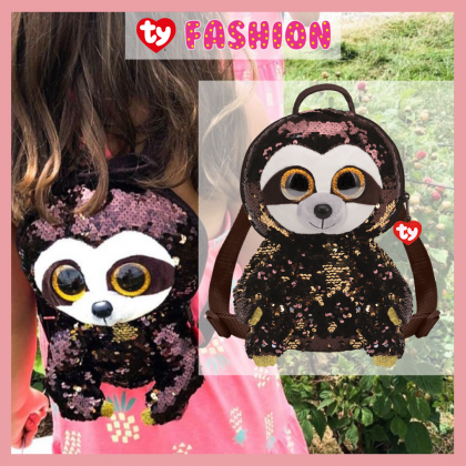 Ty Fashion - Dangler the Sloth Sequins Backpack (Large)