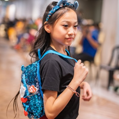Ty Fashion - SLUSH the Husky Sequins Backpack (Large)