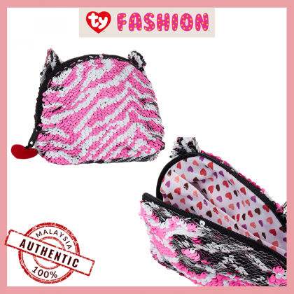 Ty Fashion | Sequins Accessories Bag | Zoey The Sequin Multicolor Zebra | Accessories Bags Gift Idea for Girls Kids