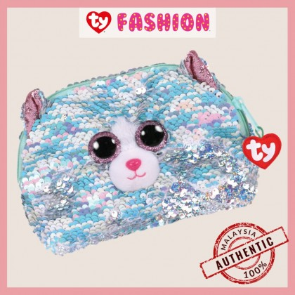 Ty Fashion | Sequins Accessories Bag | Whimsy the Iridescent Cat | Accessories Bags Gift Idea for Girls Kids